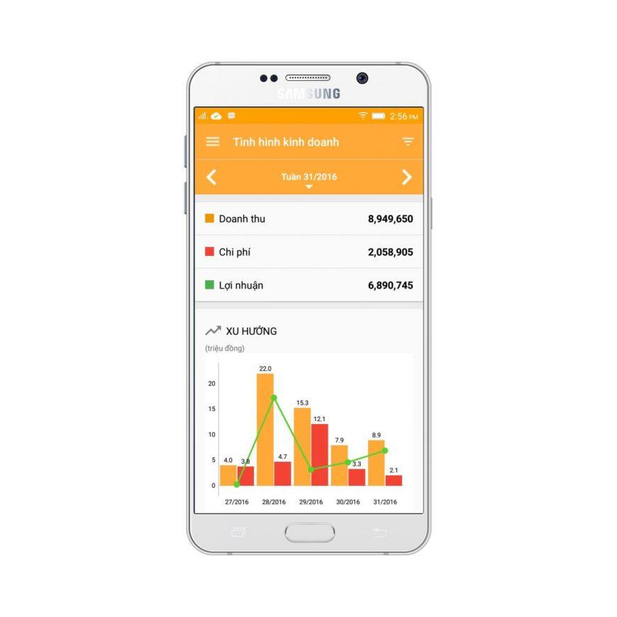 Ứng Dụng Quản Lý Bán Hàng Trên Android